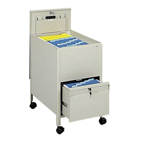 mobile storage cabinet with lock safco products extra deep locking mobile steel tub file w