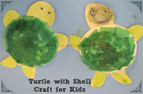 turtle craft for turtle with shell craft