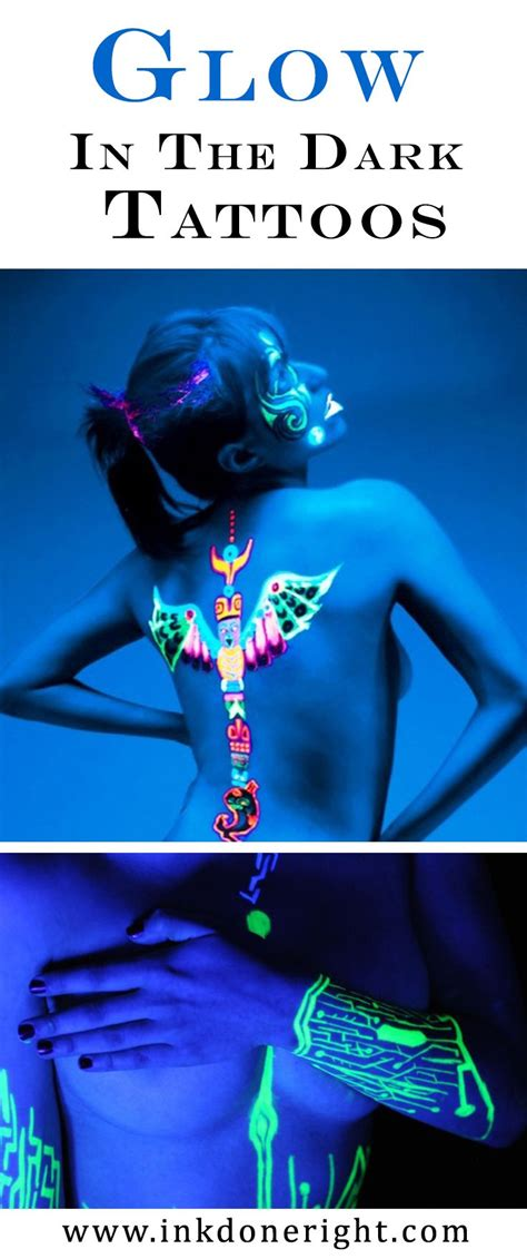 glow in the dark tattoo facts 36 best images about glow in the dark uv tattoos on