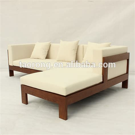 Simple Sofa Bed by Simple Design 2 Seat Wooden Sofa Bed So 481 Buy Wooden