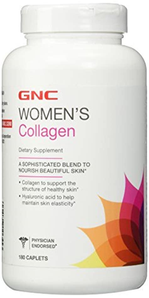 Collagen Gnc gnc women s collagen 180 caplets ehouseholds