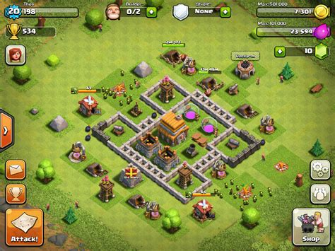 coc layout website town hall level 5 clash of clans base pinterest