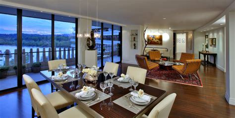 dining rooms dc watergate south residence modern dining room dc metro by mimar ponte mellor of dc