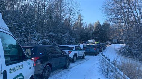 car crash pileup  maine    north  injuries