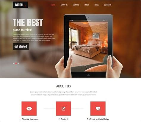 6 Creative Ways Of Building A Hotel Website Free Mobile Friendly Website Templates