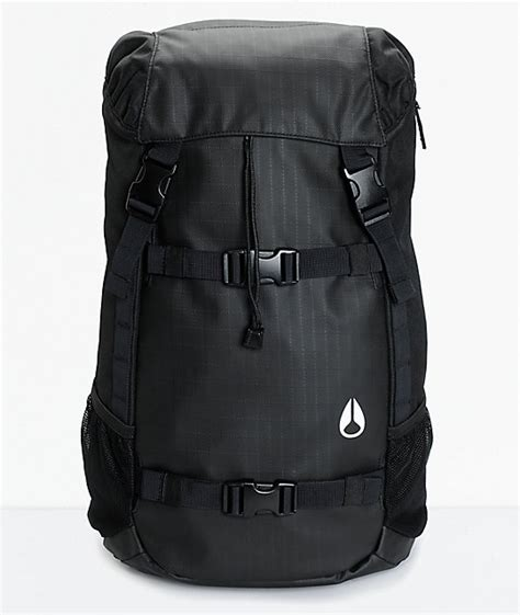 Nixon Landlock Backpack Iii Black C2813000 nixon landlock ii 33l backpack zumiez