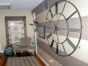 Mechanical Decor Hallway Decorating Ideas With Wall Clock Diy For