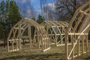 serre en bois et polycarbonate 3x6m et 3x4m serres