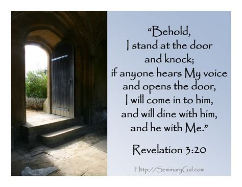 I Stand At The Door by Behold I Stand At The Door Seminary Gal