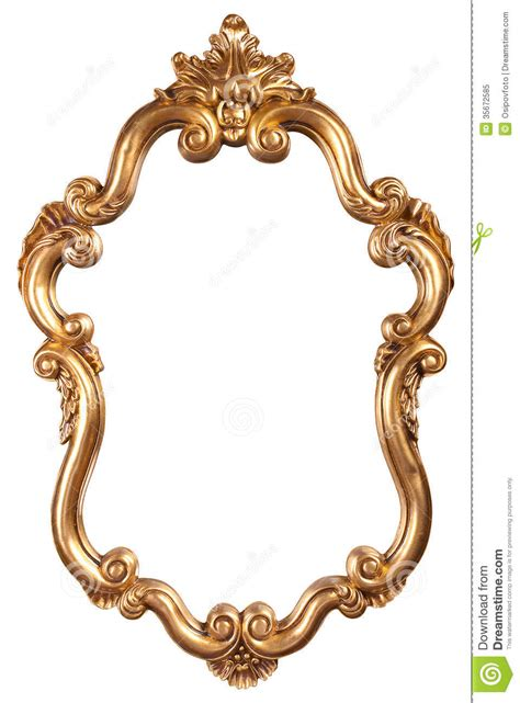 Color Chandelier Frame Clipart Antique Mirror Pencil And In Color Frame