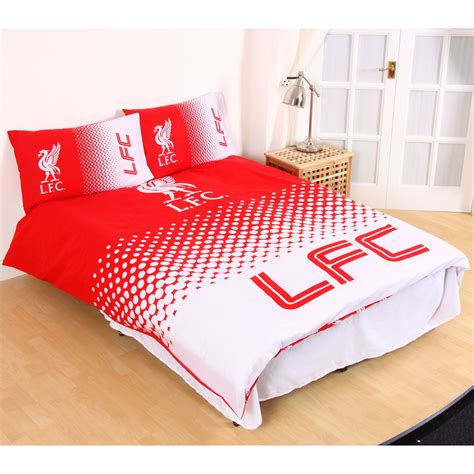 Soccer Quilt Covers by Liverpool Fade Duvet Cover Set Official Football
