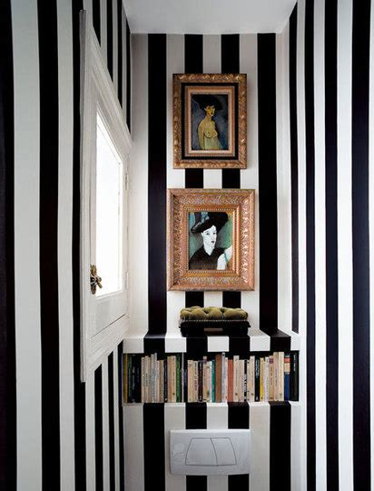 striped wallpaper for bathrooms elegant abode fun striped bathrooms