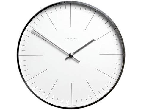 Modern Wall Clock max bill wall clock with lines hivemodern com