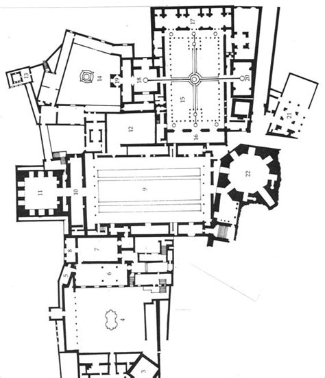 Alhambra Plan by Black White Grey Plans 291 Plan Of The Alhambra