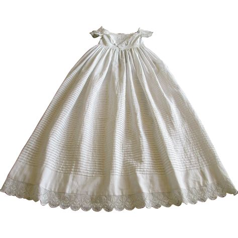 Handmade Christening Gowns - antique handmade christening gown c 1838 with exquisite