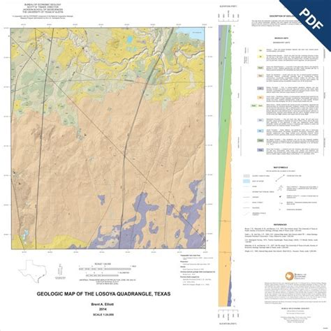 texas geological survey maps ofm0213d losoya quadrangle texas downloadable pdf the bureau store