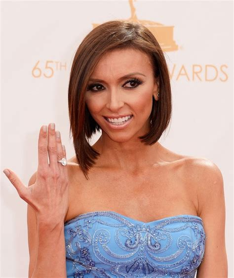 does jiuliana rancic wear wigs giuliana rancic wears ritani for forevermark diamond ring