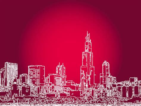 City Outline Vector by Big City Outlines