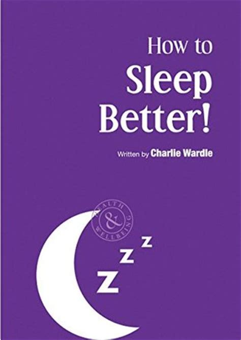 how to sleep better how to sleep better by wardle reviews