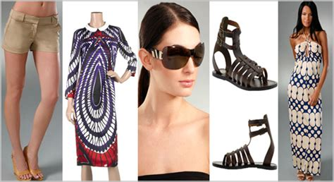 Summer 08 Trends High Picks by What To Wear Now Top 5 Summer Trends What S Haute
