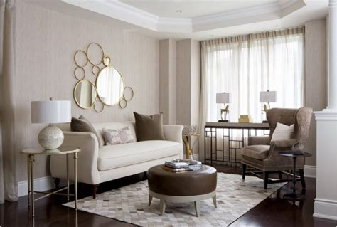 Brown And Gold Living Room by Living Rooms With Brown White And Gold Accents Design