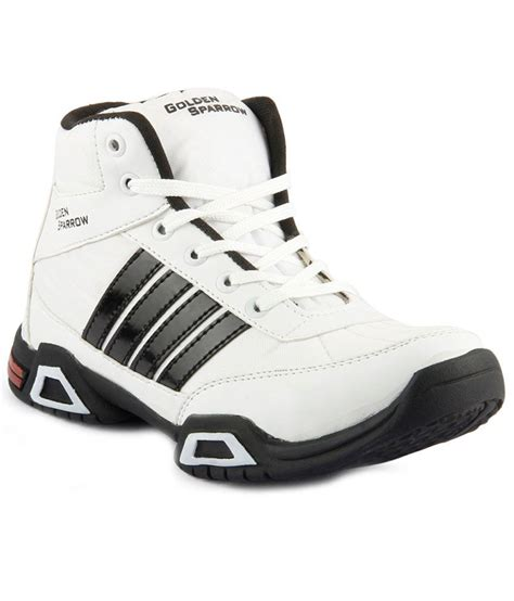 black and white sports shoes gs white and black sport shoes price in india buy gs