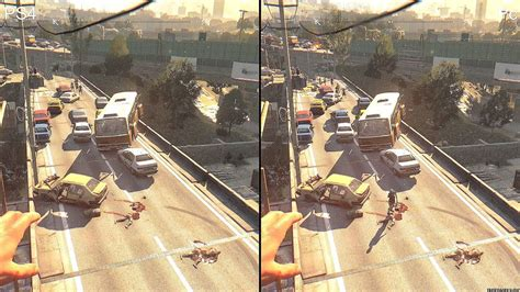 dying light enhanced edition ps4 dying light enhanced edition pc vs ps4 graphics comparison