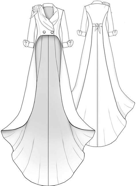 design dress making pattern tailcoat sewing pattern 2015 made to measure sewing