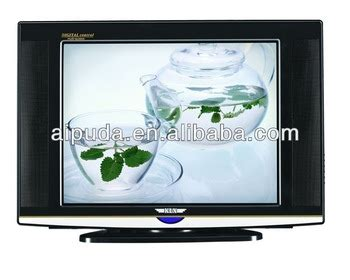 Tv Advance Slim 21 Inch 21 inch ultra slim crt tv with the base rotarying base
