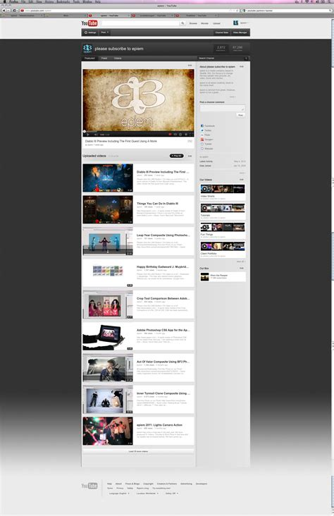 2012 youtube background psd template by epiem on deviantart
