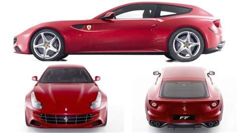 Ferrari Four by Wordlesstech The Practical Four Seat V12 Ferrari Ff