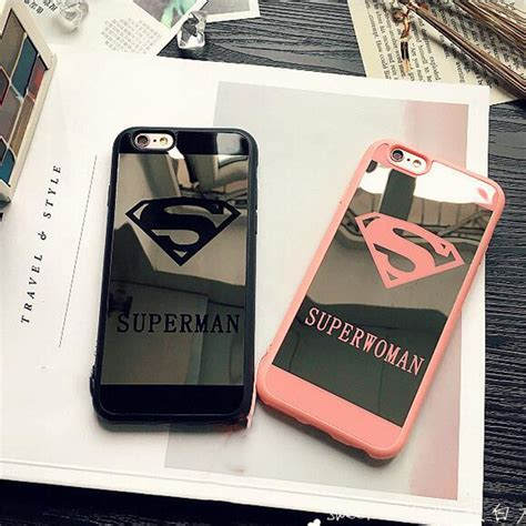 Superman Iphone 7 silik 243 nov 253 zrkadlov 253 obal superman a superwoman pre iphone