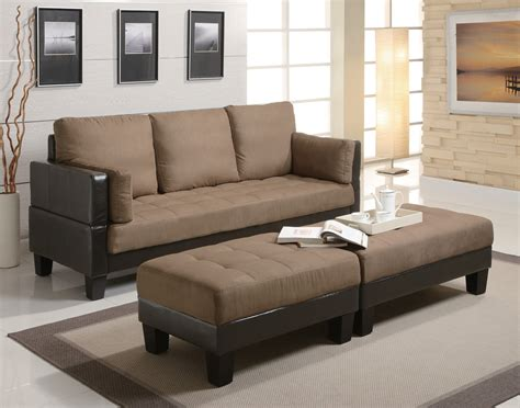 fulton bed fulton sofa bed with 2 ottomans from coaster 300160