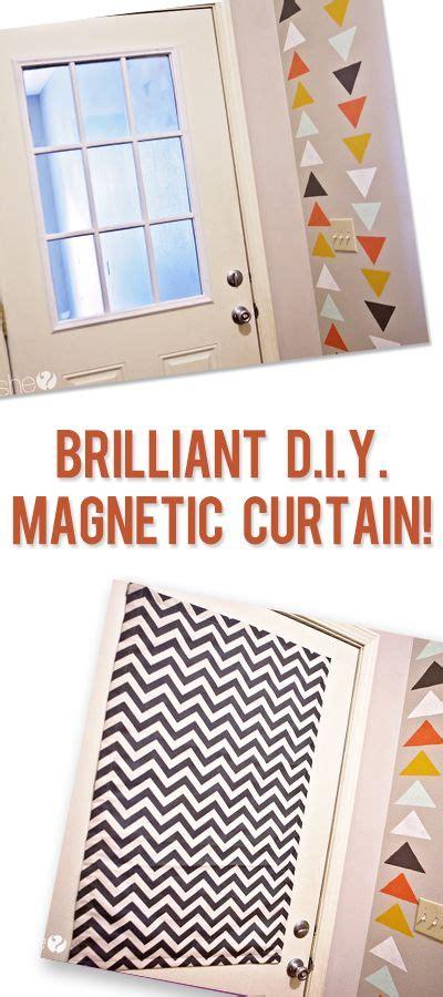 brilliant diy magnetic curtain magnetic curtain diy