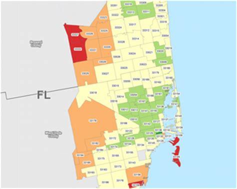 zip code map miami gis data science custom mapping reporting geo sling