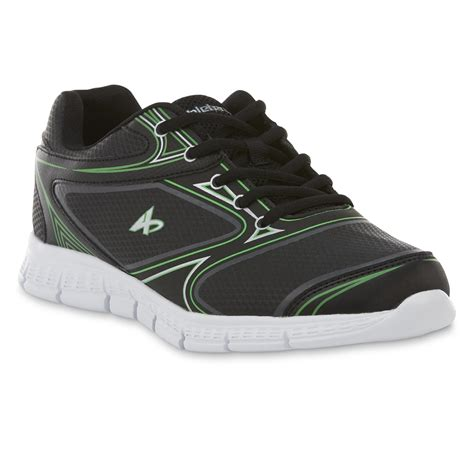 kmart mens athletic shoes athletech s dax 2 athletic shoe black green