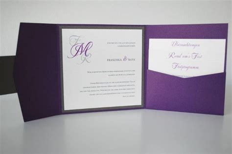 Hochzeitseinladung Pocket Folder by 25 Best Images About Hochzeit Einladungen On