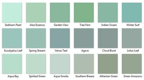 behr greens 2 i like aqua smoke southern and lotus leaf paint colors