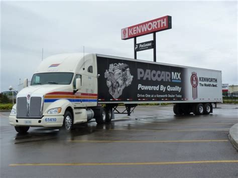 kenworth toronto kenworth t700 paccar mx to be showcased at kenworth