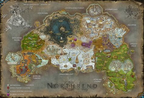 world of warcraft map northrend world map by rsholtis on deviantart