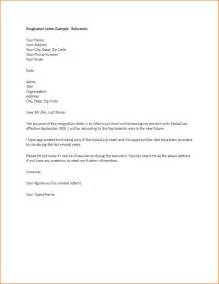 Resignation Letter Due To Relocation by Resignation Letter For Relocation Resume Cv Cover Letter