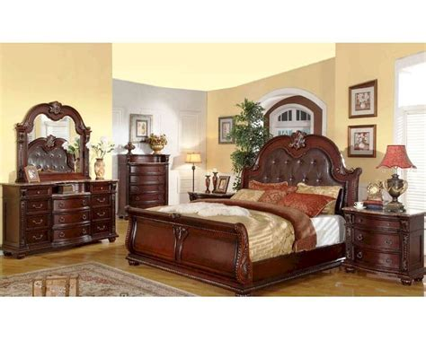 traditional bedroom sets 28 images warm brown finish