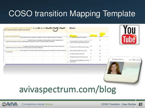 Control Findingsreporting Coso Mapping Template