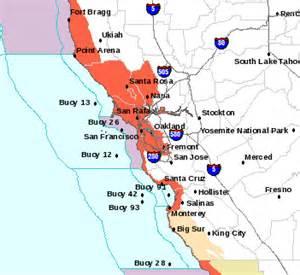 california tsunami map tsunami warning for bay area after 8 9 quake in japan