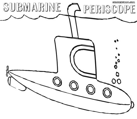 submarine coloring pages coloring pages to download and