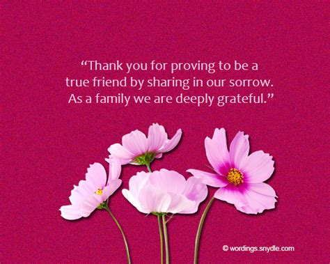 funeral thank you note funeral thank you notes wording wordings and messages