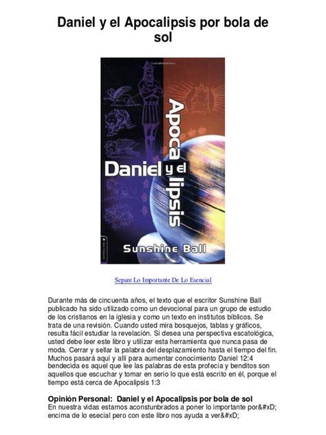 leer que pasa en cataluna libro e pdf para descargar daniel y el apocalipsis por bola de sol daniel y el apocalipsis sunshine ball pdf 46k