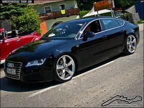 black custom tuning audi a7 sportback flickr photo