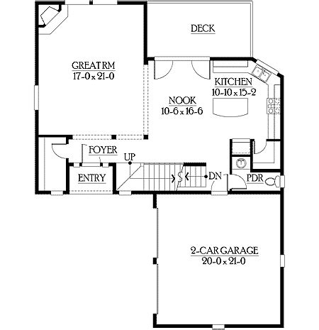 open great room floor plans open floor plan with great room design 23144jd