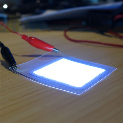 light emitting paper sheets used for making flexible screens